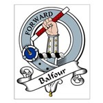 Balfour Clan Badge Small Poster