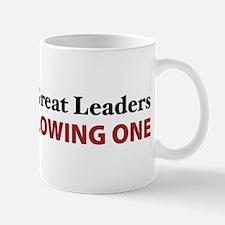 Women Are Leaders Mug