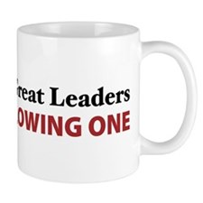 Women Are Leaders Small Mug