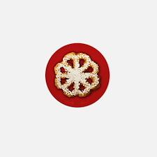 Scandanavian Rosette Cookie Mini Button