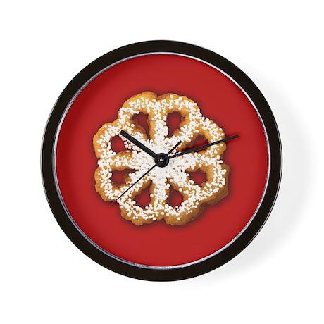Scandanavian Rosette Cookie Wall Clock