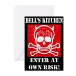 Hell's Kitchen Logo Greeting Cards (Pk of 20)