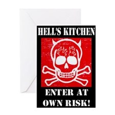 Hell's Kitchen Logo Greeting Card