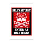 Hell's Kitchen Logo Mini Poster Print