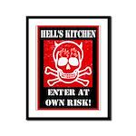 Hell's Kitchen Logo Framed Panel Print