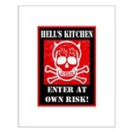 Hell's Kitchen Logo Small Poster