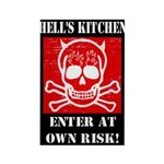 Hell's Kitchen Logo Rectangle Magnet