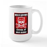 Hell's Kitchen Logo Large Mug