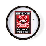 Hell's Kitchen Logo Wall Clock