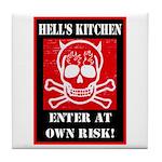 Hell's Kitchen Logo Tile Coaster