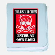 Hell's Kitchen Logo baby blanket
