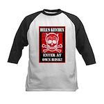 Hell's Kitchen Logo Kids Baseball Jersey
