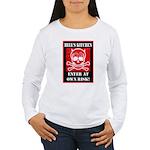 Hell's Kitchen Logo Women's Long Sleeve T-Shirt