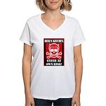 Hell's Kitchen Logo Women's V-Neck T-Shirt