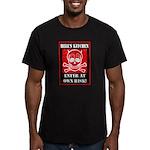 Hell's Kitchen Logo Men's Fitted T-Shirt (dark)