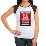 Hell's Kitchen Logo Women's Cap Sleeve T-Shirt