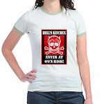 Hell's Kitchen Logo Jr. Ringer T-Shirt