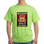 Hell's Kitchen Logo Green T-Shirt