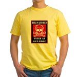 Hell's Kitchen Logo Yellow T-Shirt