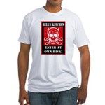 Hell's Kitchen Logo Fitted T-Shirt