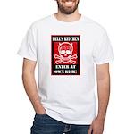 Hell's Kitchen Logo White T-Shirt