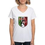 Jersey Girl Women's V-Neck T-Shirt