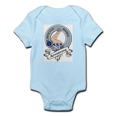 Armstrong Clan Badge Infant Creeper