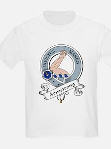Armstrong Clan Badge Kids T-Shirt