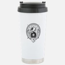 8 Ball Dragon Travel Mug