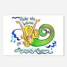 Mermaid Lagoon Postcards (Package of 8)