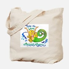 Mermaid Lagoon Tote Bag