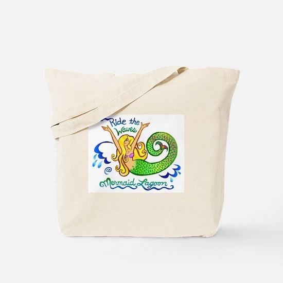 Mermaid Lagoon Tote Bag