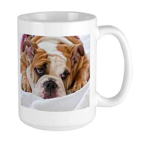 English Bulldog Puppy Large Mug