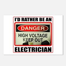 ELECTRICIAN Postcards (Package of 8)