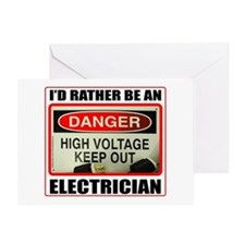 ELECTRICIAN Greeting Card