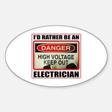 ELECTRICIAN Bumper Stickers