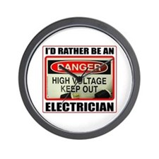 ELECTRICIAN Wall Clock