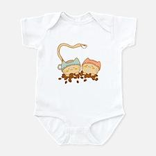 Coffeecats Infant Bodysuit