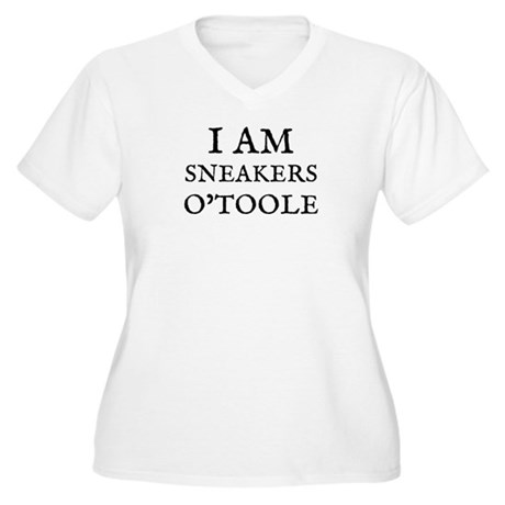 Sneakers O'Toole Women's Plus Size V-Neck T-Shirt