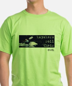 Kayakers Roll Their Own T-Shirt