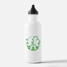 Green Peace Water Bottle
