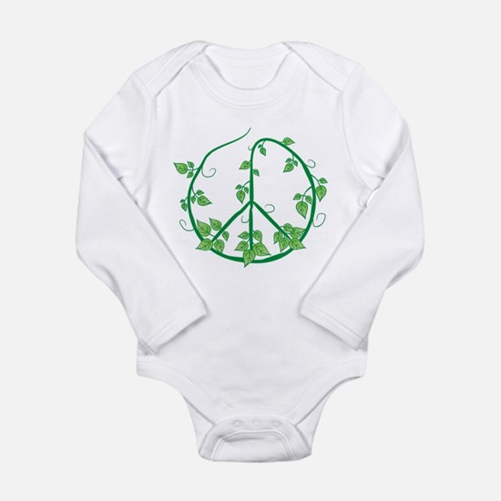 Green Peace Long Sleeve Infant Bodysuit