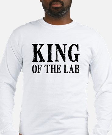 King of the Lab Long Sleeve T-Shirt