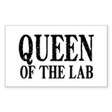 Queen of the Lab Decal