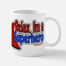 Relax im a hero Mug
