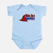 Relax im a hero Infant Bodysuit