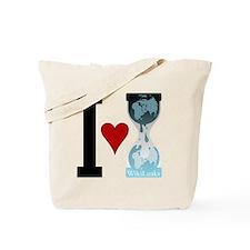 I heart WikiLeaks Tote Bag