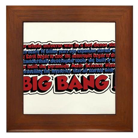 Big Bang Framed Tile