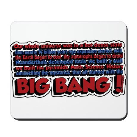Big Bang Mousepad