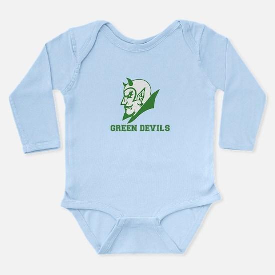 Funny Balboa high school Long Sleeve Infant Bodysuit